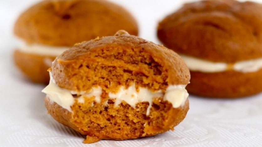pumpkin spice recipes, including whoopie pies
