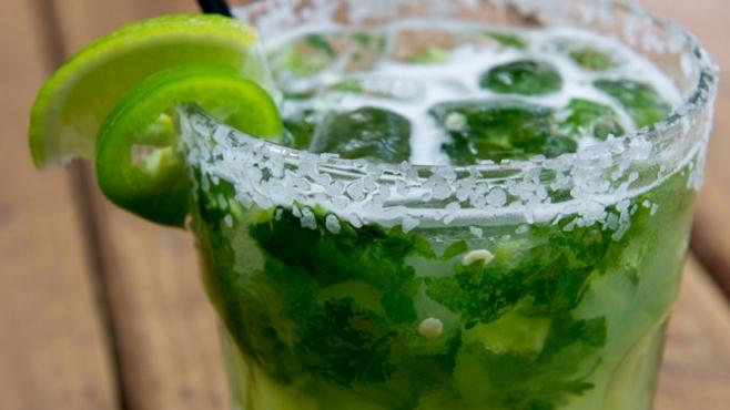 Cilantro-Jalapeno Margarita