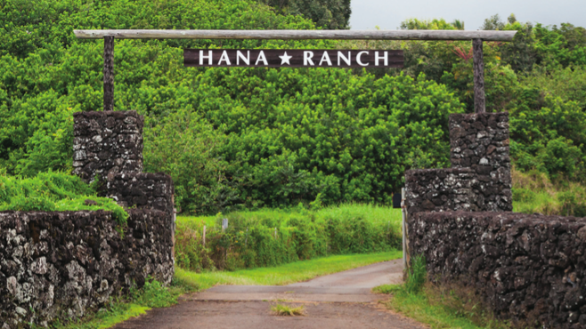 Hana Ranch in Maui, Hawaii