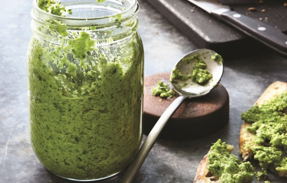 Broccoli Almond Pesto