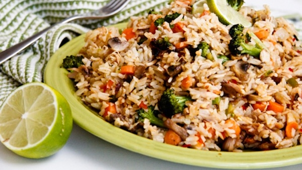 Sweet Chili Lime Fried Rice