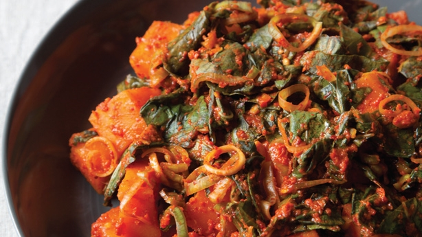 pumpkin spice kimchi