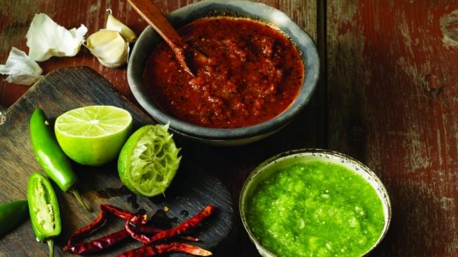 Raw Tomatillo Salsa (Salsa Verde Cruda)