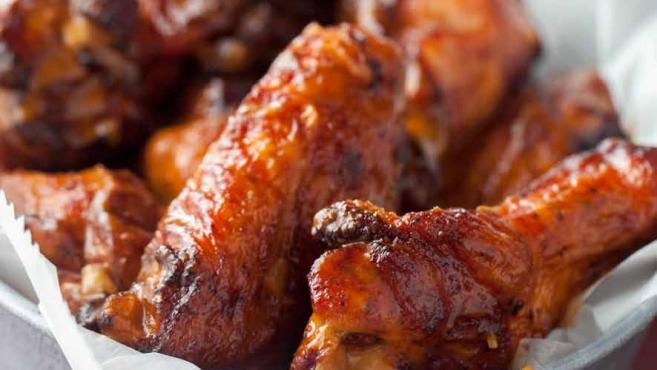 smoky chicken wings