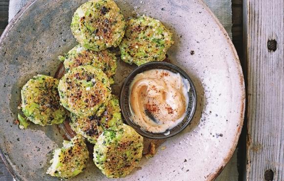 Vegan Broccoli Quinoa Bites